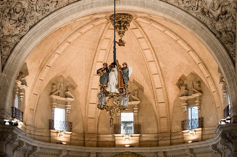 El Misteri d'Elx fue la primera manifestación cultural de la Comunitat Valenciana que fue declarada Patrimonio Cultural Intangible de la Humanidad.