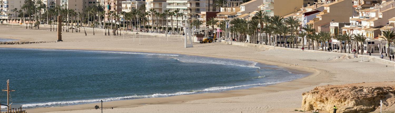 Playa del Carrer de la Mar en El Campello, Comunitat Valenciana