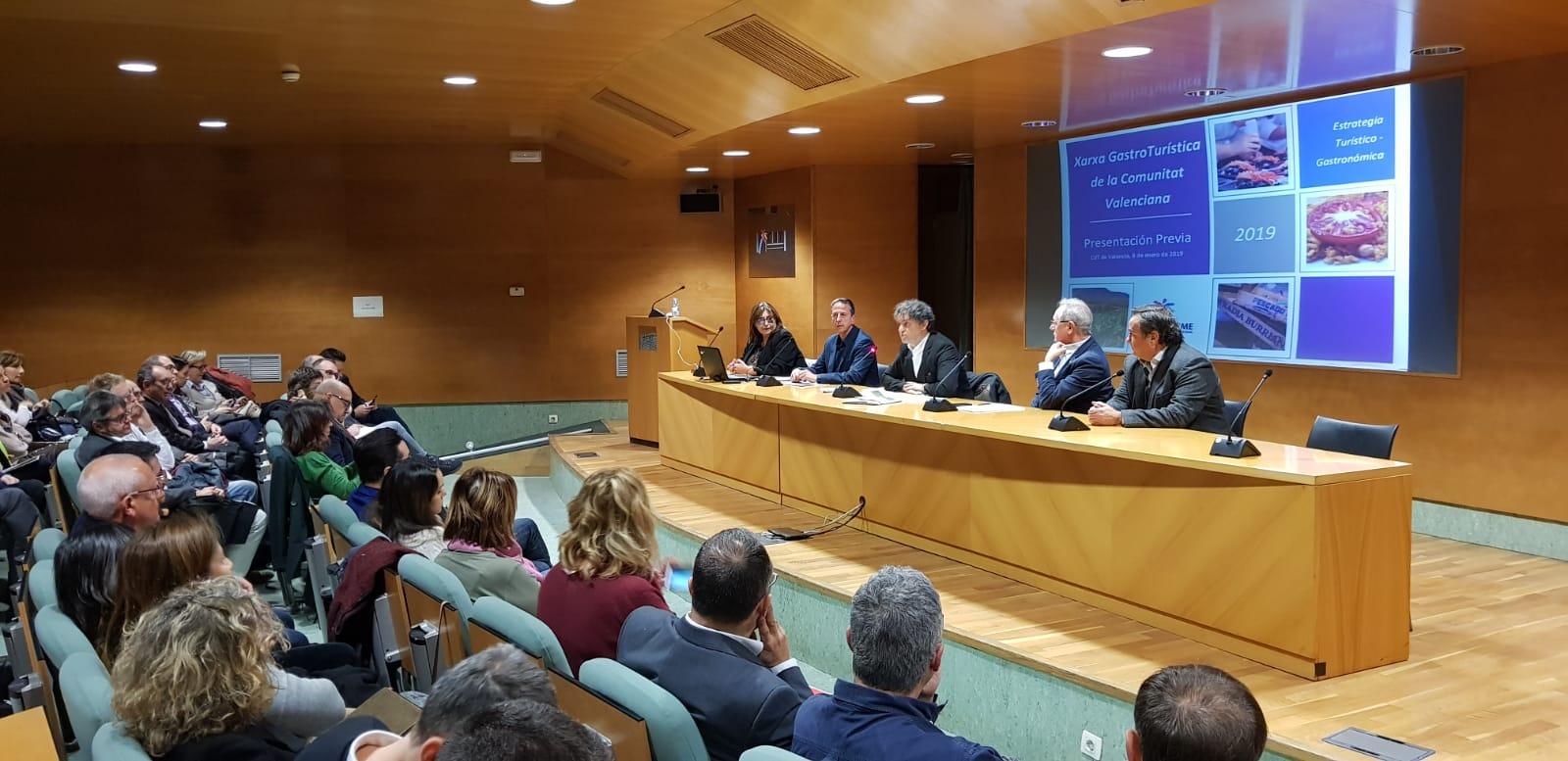 Presentación Red Gastroturística de la Comunitat Valenciana al sector gastronómico