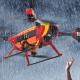 Auxdron Lifeguard drone en rescate bajo la lluvia 800x531