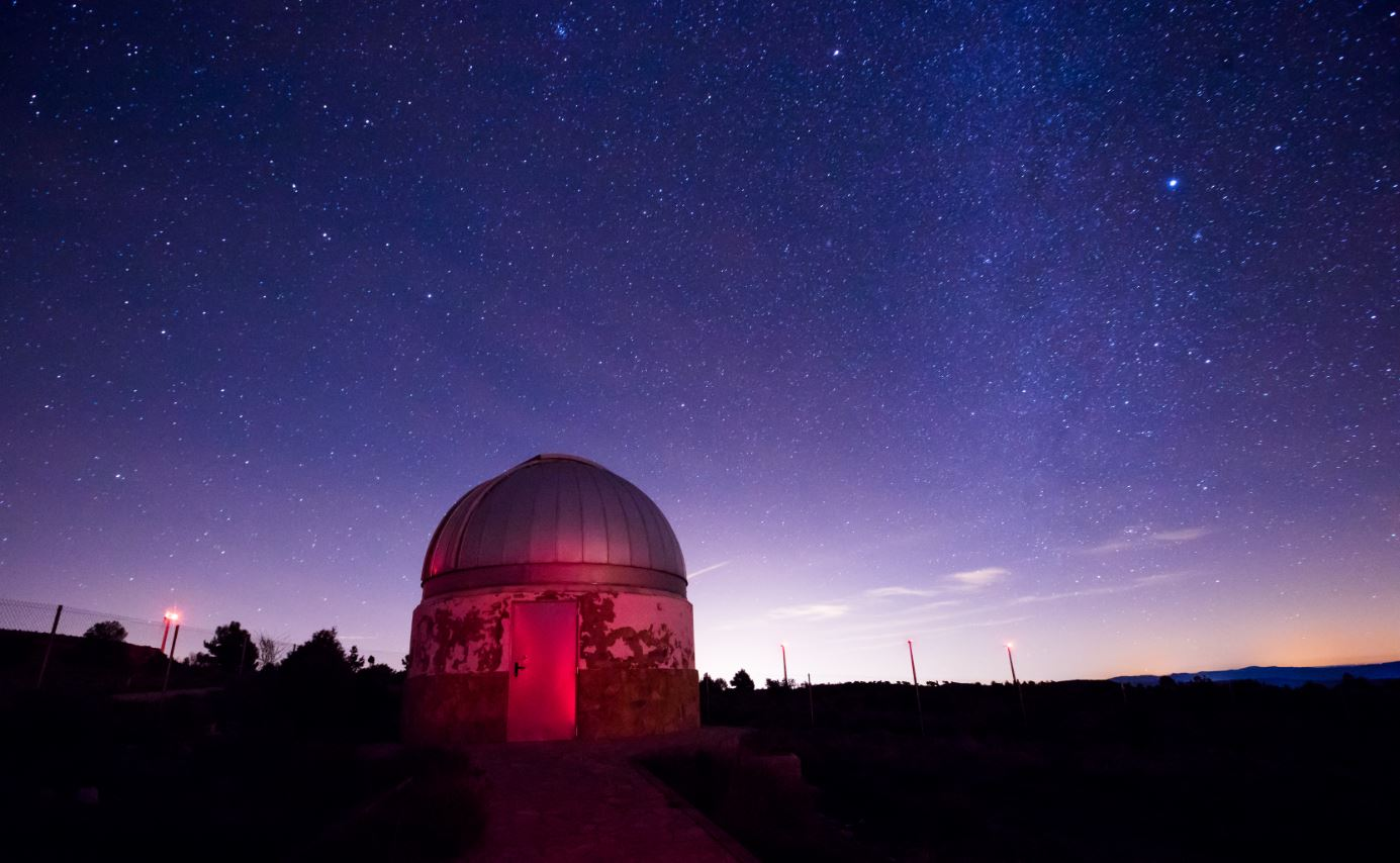Observatorio astronómico Aras de los Olmos
