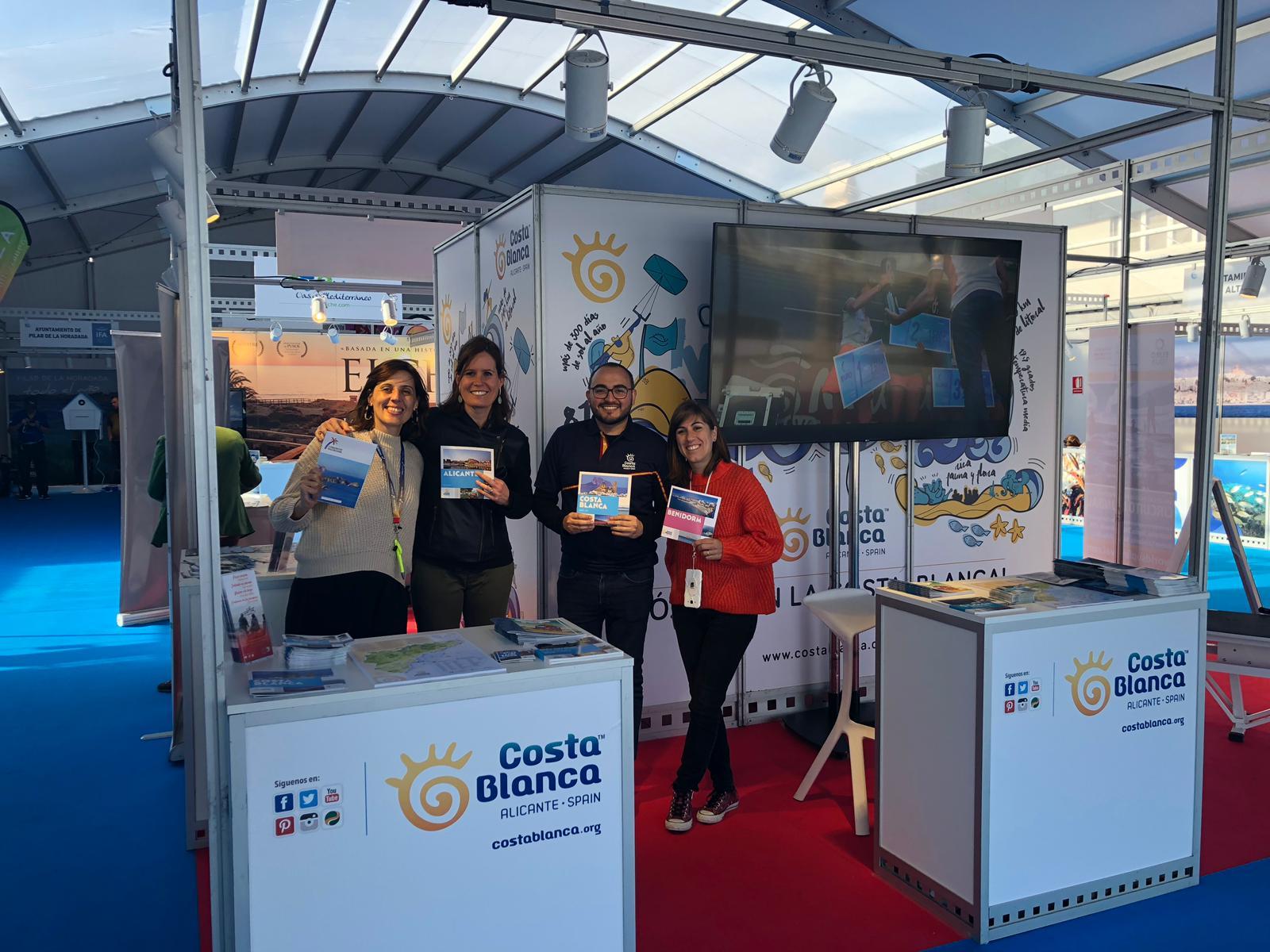 Stand en la feria MedSea de Alicante 2019