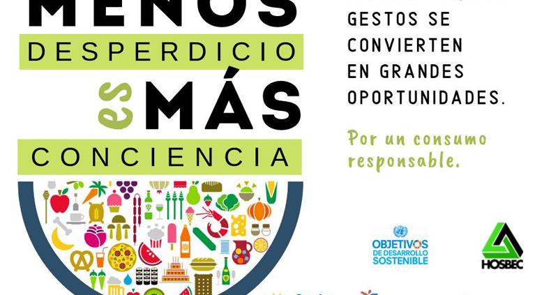Cartel Jornada Hosbec Desperdicio Alimentario 800x531