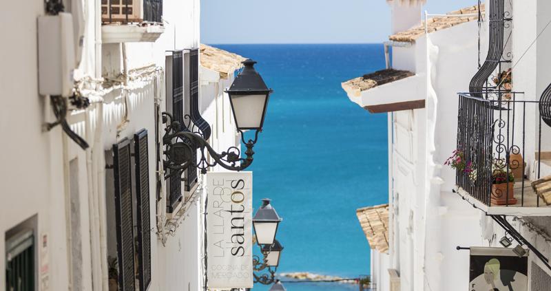 Casco Urbano de Altea, en Alicante, Comunitat Valenciana