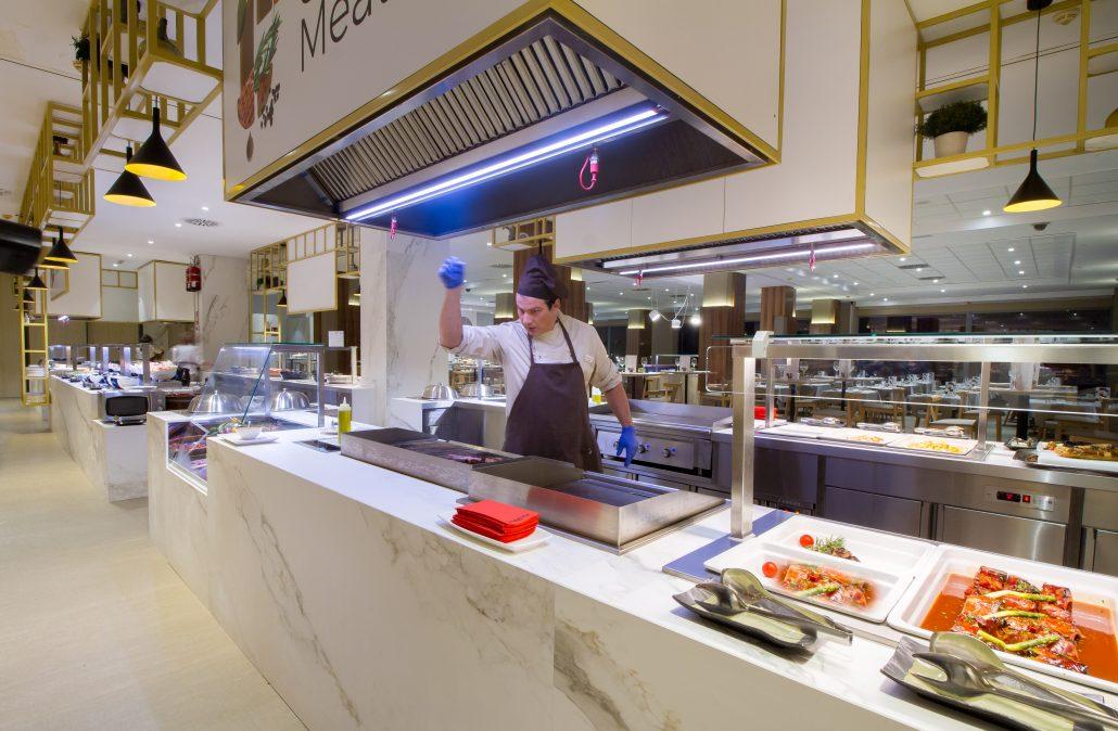 Food Gallery en Hotel Sol y Mar de Calpe, Comunitat Valenciana