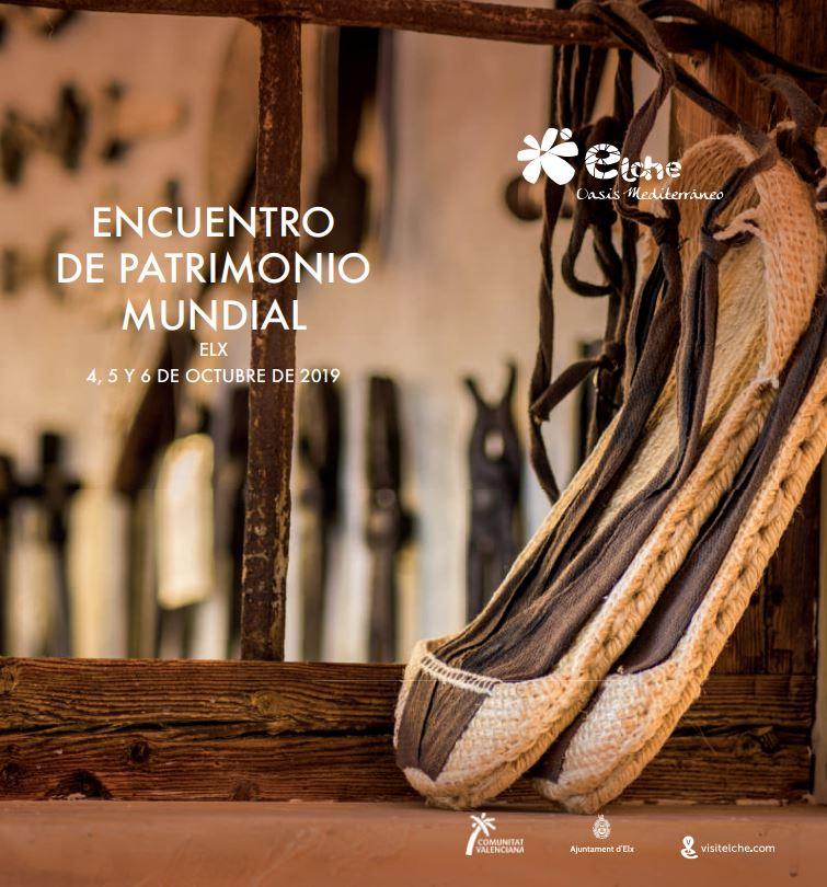 Programa Encuentro Patrimonio Elche
