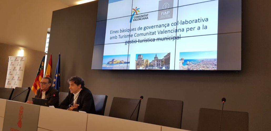 Jornada Aula de Turisme sobre ayudas a municipios para promoción turística de Turisme Comunitat Valenciana
