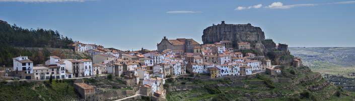Vistas generales de Ares del Maestre, municipio de Castellón, Comunitat Valenciana
