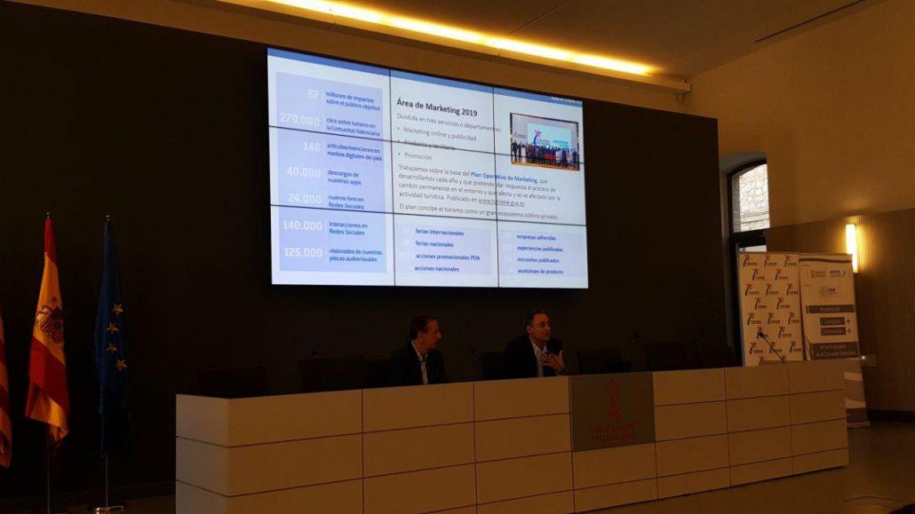 Herramientas de promoción y marketing on line de Turisme Comunitat Valenciana