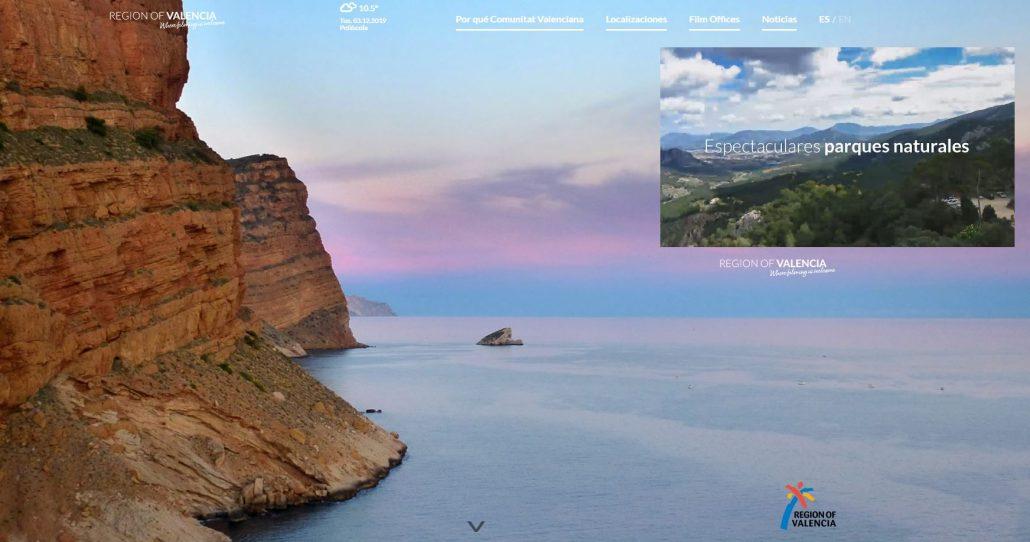 Web Valencia Region Film