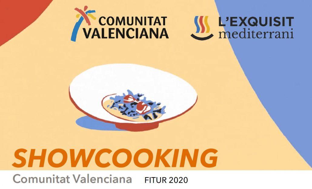 Portada programa showcooking Fitur Comunitat Valenciana 2020
