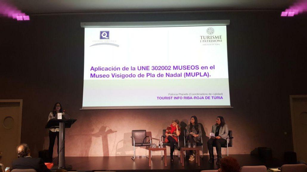 Aplicación de la norma de calidad y marca Q de calidad turística en el museo de Riba-roja