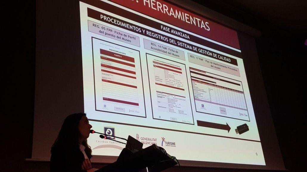 Exposición del ICTE sobre el diagnóstico inicial de calidad en los museos de la Comunitat Valenciana