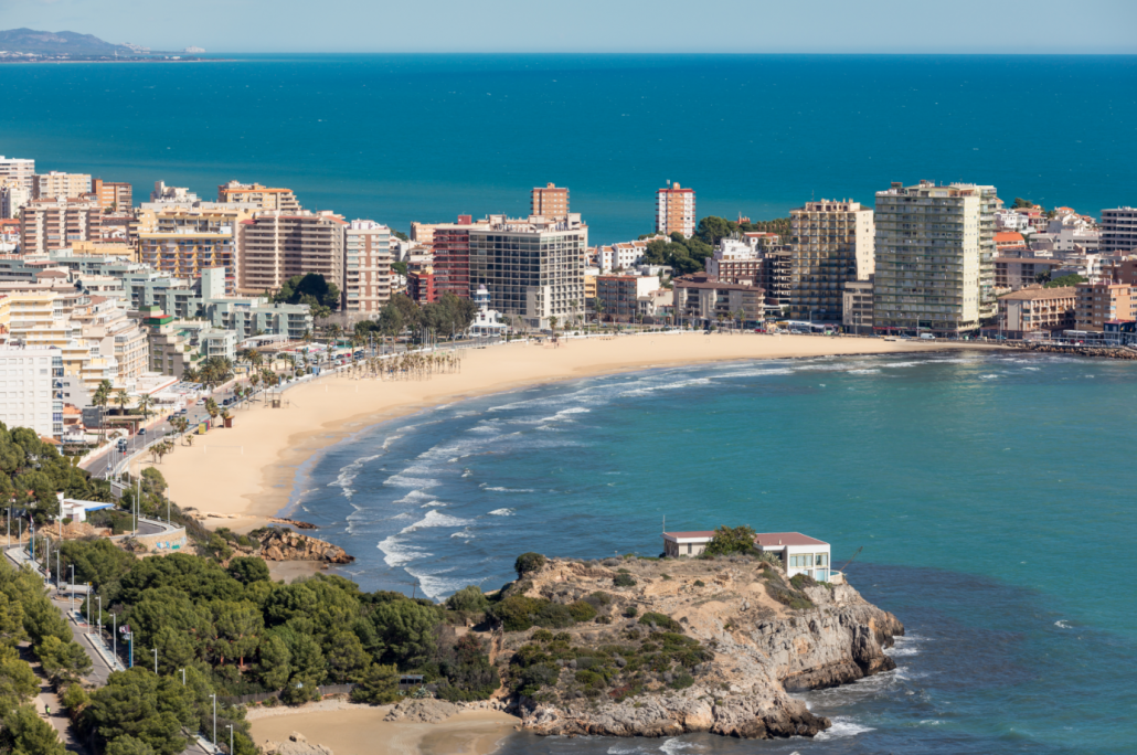 Playa de la Concha Oropesa,Castellón, Comunitat Valenciana