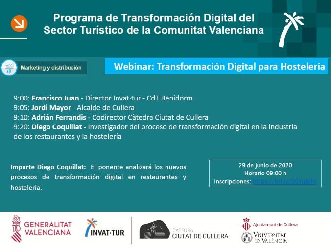 Webinar La Transformacif300n digital para hostelered00a, con Diego Coquillat