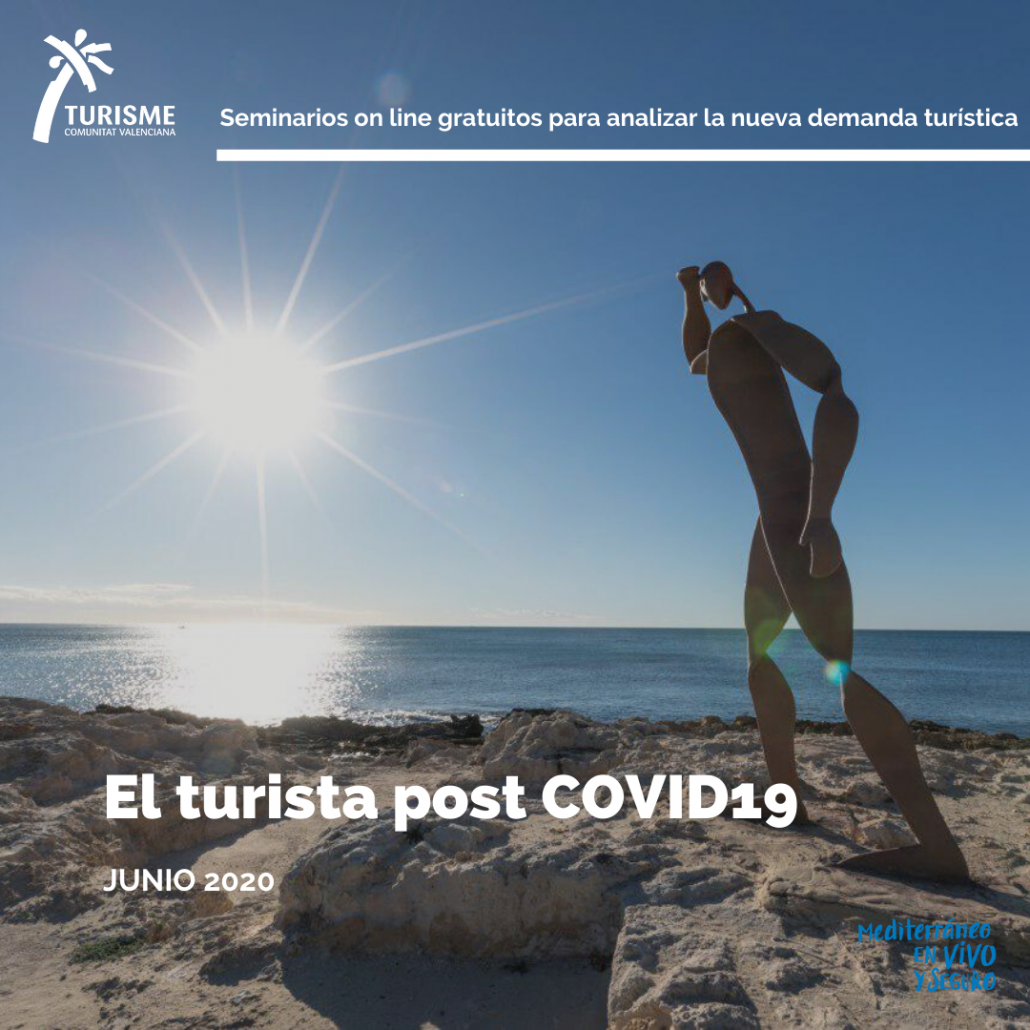 Portada Webinars El turista post COVID19 en la Comunitat Valenciana
