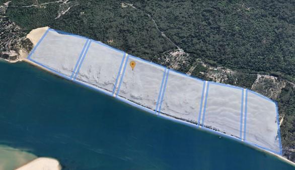 Control de aforo de playas por aplicación