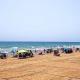 playa Torrevieja parcelada para garantizar la distancia social y evitar el contagio por COVID19