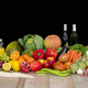 Bodegón Alimentos Comunitat Valenciana Fondo Negro 800x531