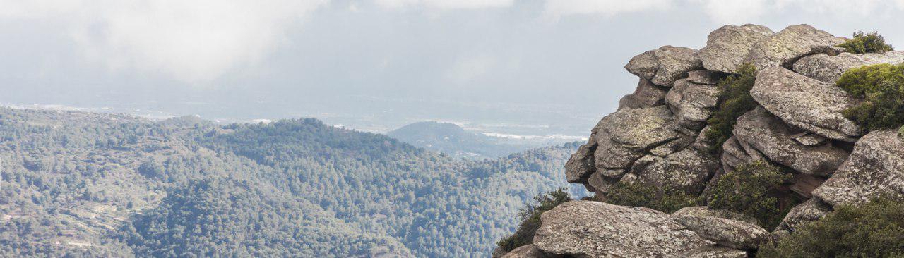 Vistas de la Sierra Calderona, Comunitat Valenciana