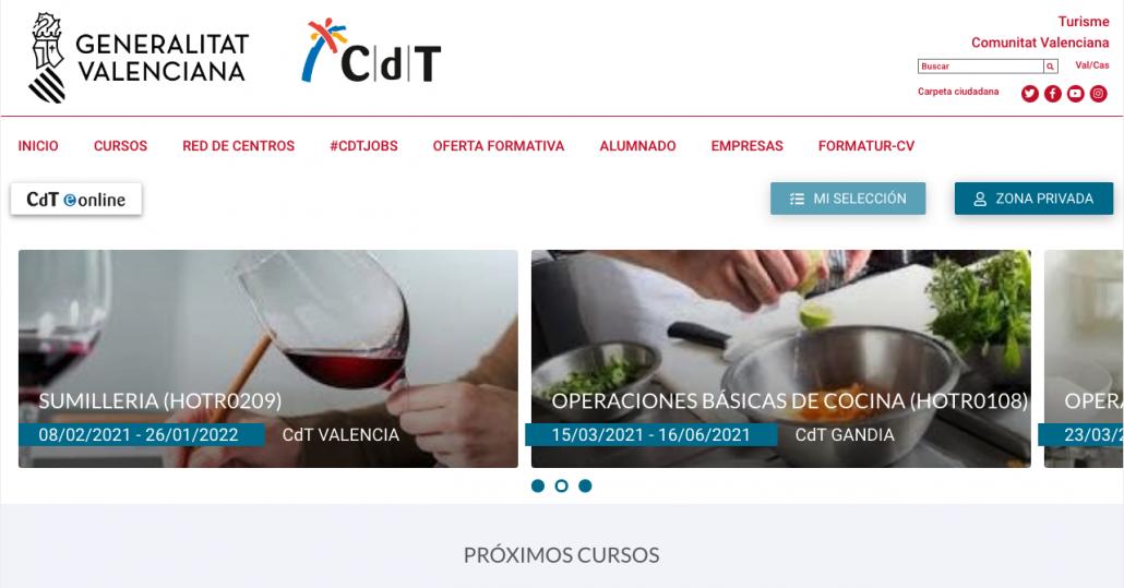 Web de la Red CdT