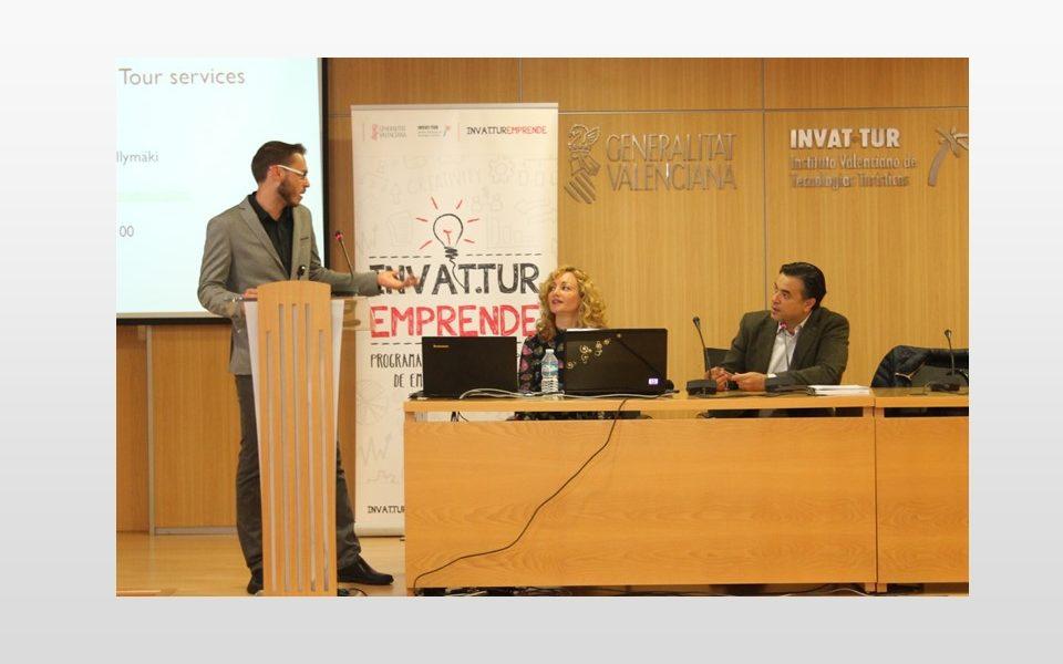 Sesión con Emprendedores Turisme Emprén CV