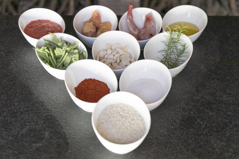 ingredientes paella Comunitat Valenciana 800x531