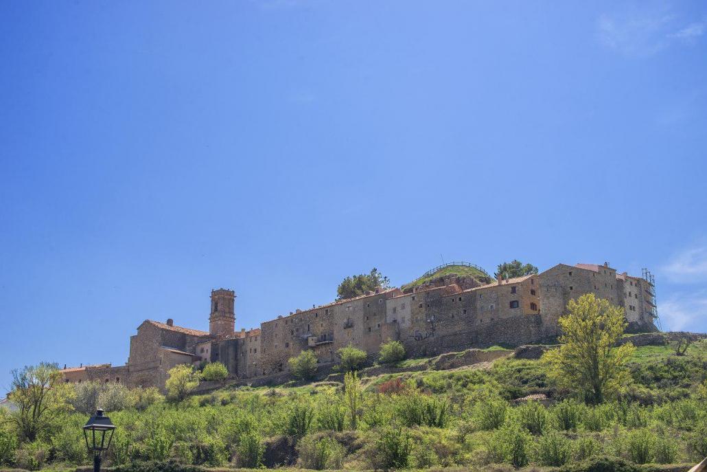 Vistas general de Culla, Castellón, Comunitat Valenciana